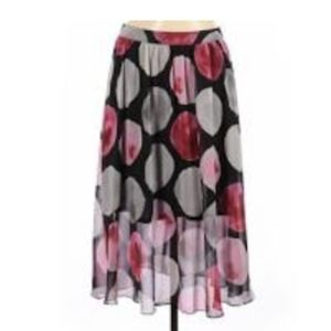 Pink Bubble Pattern Skirt